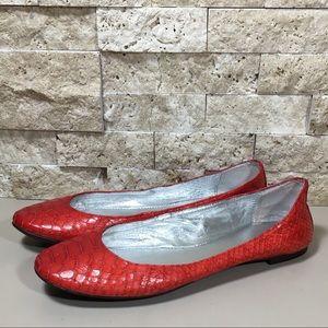 Banana Republic Flats Shoes Red Size 6 Ballet Flat
